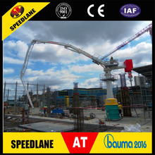 Concrete placing boom Concrete pump placing boom construction machine for road construction