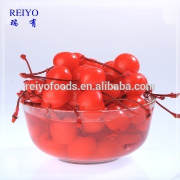 supply canned fruit canned red cherry in syrup