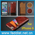 deluxe back cover case for iPhone 6 with 2 credit card holders