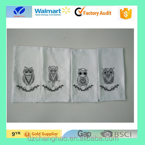 china supplier new style print towel linen and cotton towel
