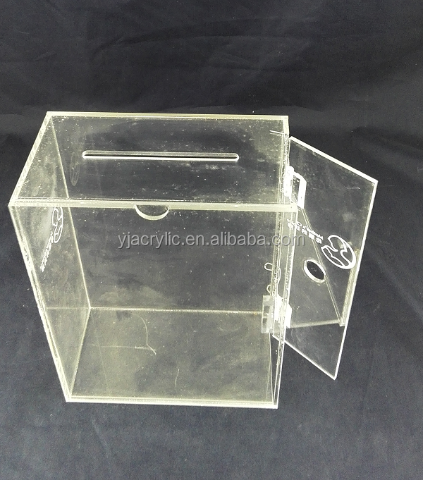 Acrylic Box Letters : Customized clear acrylic letter box buy
