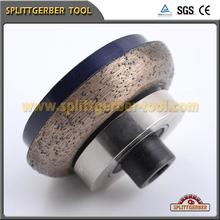 Diamond tools of continuous concrete router bit for stone profiling machine