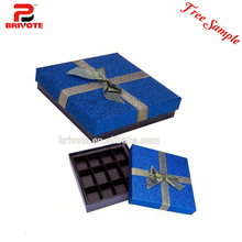 lovely gift design chocolate packaging/chocolate wedding box/chocolate bar packaging box