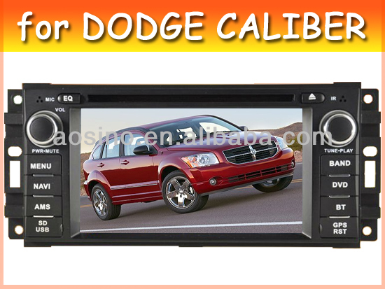 car audio radio car dvd gps for DODGE CALIBER with bluetooth gps navigation