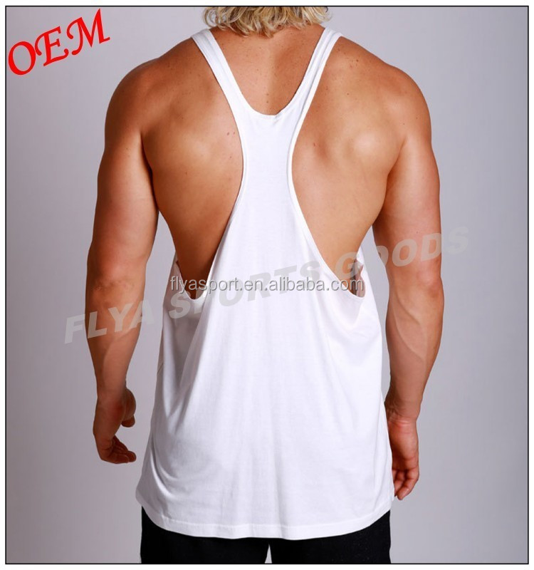 Men Singlet Bodybuilding Racerback Y Back Muscle Golds Gym Stringer Tank Tops