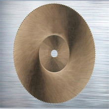 Ticn Coated HSS Saw Blade for Cutting Copper