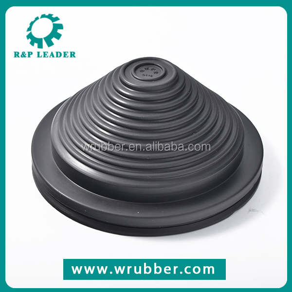 Promotion cheap custom heat resistant auto black rubber cap button