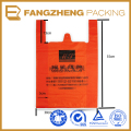 China Manufacture product bags with logo t shirt bags/ HDPE t shirt bag/ Print Hdpe Plastic T Shirt Bags
