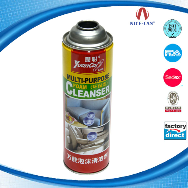 Wholesale empty tin packaging metal aluminum aerosol can
