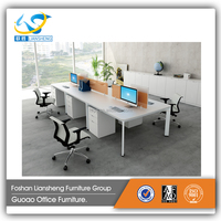 2017 hot sale cheap office desks metal frame computer table