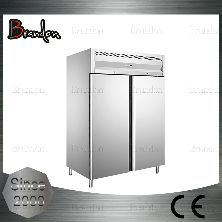 Brandon large capacity 2 door upright blast chiller for kitchen and supermarket
