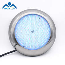 W4005-S513RGB 12V Wall mounted Stainless Steel Led Swimming Pool Light <strong>RGB</strong> 40W waterproof