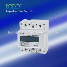 Single phase din rail analog display,CE approved kwh meter,electronic meter,electricity meter,energy meter,220v hour meter