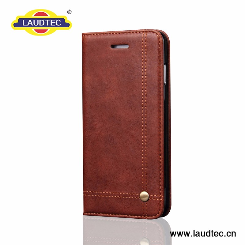 Pu Leather Business Cover for Iphone 7