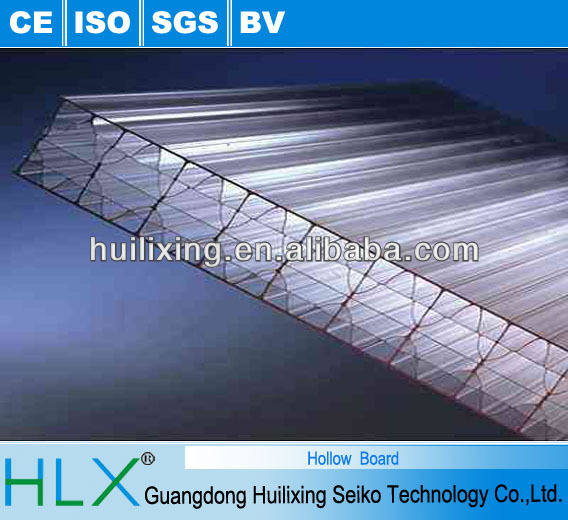 Heat Insulated Plastic Polypropylene Hollow Sheet