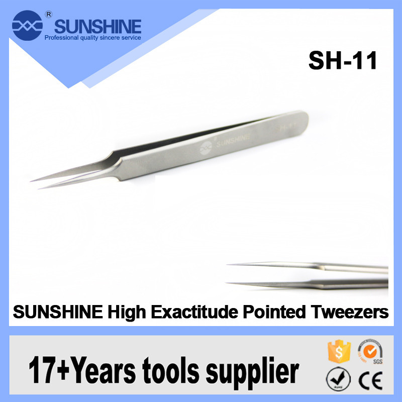 2016 Best Sharp Smd Hot Pointed Tweezers For Pcb Computer Repair Tools