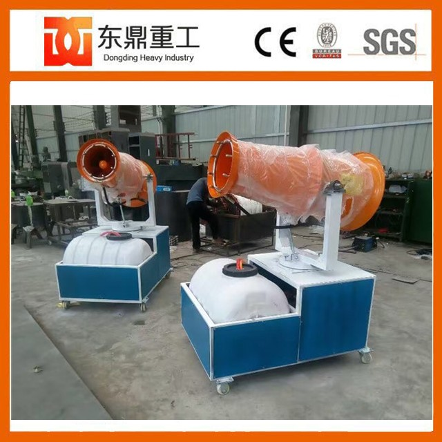 High efficiency water spraying machine