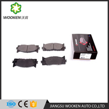 TS16949/ISO 9001 Automobile semi-metal brake pad for Toyota Camry OEM 04465-06090