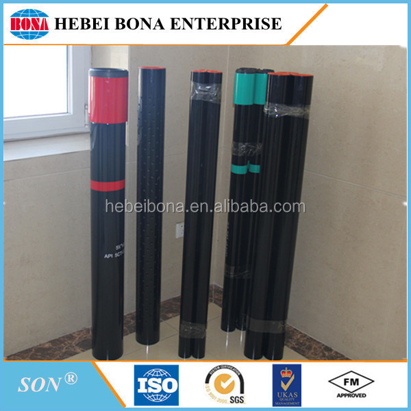 ASTM A106 Black Painted Carbon Steel Pipe