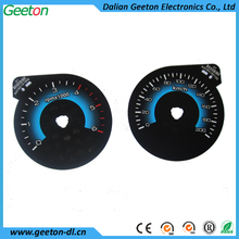 Custom 2D Screen Printing Speedometer For universal Car