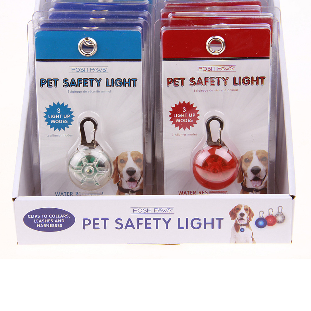 Fashion Accessories Waterproof Dog Safety Light LED Pet Tag