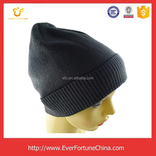 Custom logo winter hat knitted beanies hats and caps men