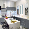 high glossy uv mdf kitchen cabinet with Germany machines