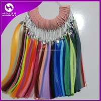 Premium Quality synthetic hair color ring/color chart/color swatches