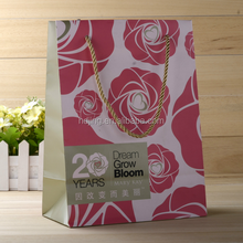 Modern Long paper gift bag top selling products in alibaba