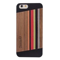 2015 Hot Products!Fancy Protective Original Wood Handmade Cell Phone Case For Apple Iphone 6 China Supplier