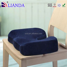 Coccyx Orthopedic Comfort Foam Seat Cushion water seat cushion for car