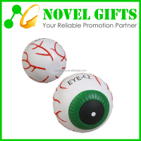 Cheap Custom Eye Shape PU Foam Stress Reliever Ball