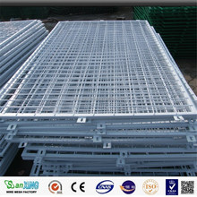 supermarket shelter galvanized welded wire mesh panel(ISO9001-ISO9008)