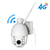 Wifi CCTV camera 4G security ip camera array LEDs night vision sim card PTZ wifi camera