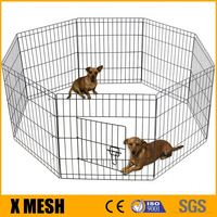 "Pet Dog Playpen Foldable 36"" Metal Wire 8 Panels Puppy Playpen Exercise for Pets"