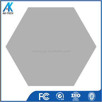 New Indoor Pure Grey Living Room Hexagon China Tile 200x230