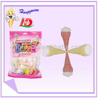 Soft jelly cone marshmallow candy