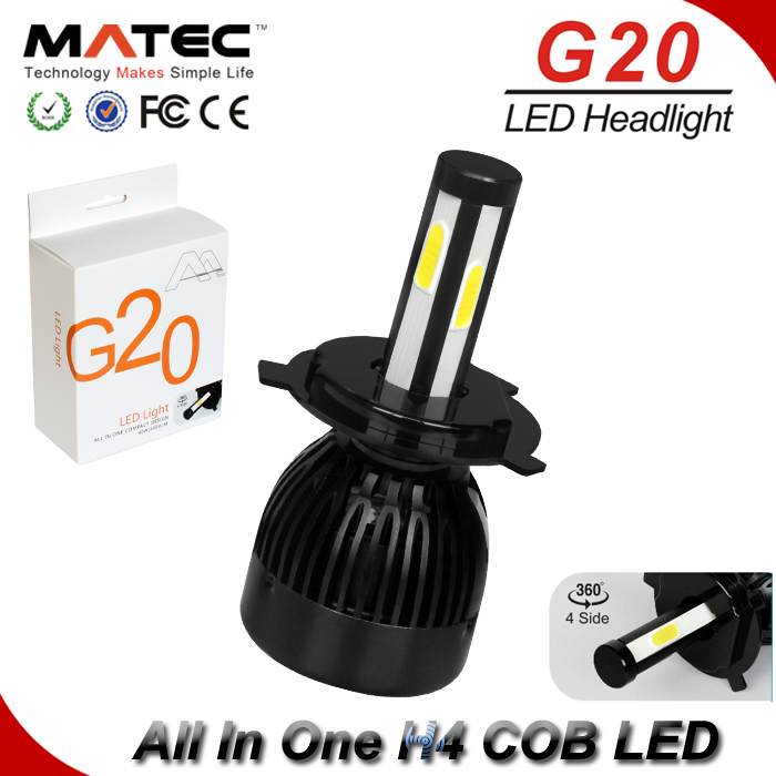 Newest!!! car accessories 12V G20 led headlight <strong>lamp</strong> 40w led driving light <strong>auto</strong> parts