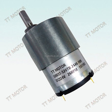 geared 37mm dc motor for cordless drill