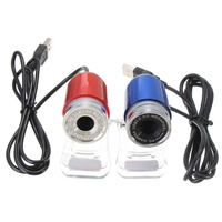 360 Degree USB 50MP HD Webcam Web Cam Camera 12M Pixels for Computer Laptop PC Tablet New High Quality Blue Red
