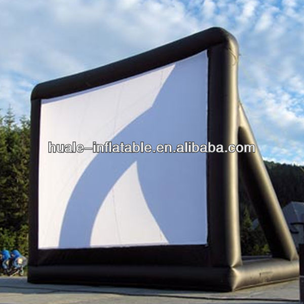 inflatable air screen /movie inflatable screens for sale