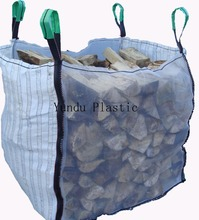 Factory price ventilated big bulk bag for wood , onion , potato