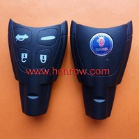 Honrow company 2014 hot sale SAAB 4 button remote key blank with blade with 50% free shipping free, saab key