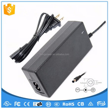 12 volt 5 amp power adapter 60w CSA UL/cUL FCC CE GS SAA Certificated