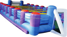 inflatable water football pitch, inflatable football court/field