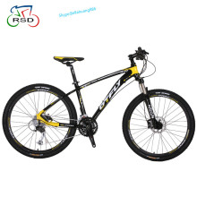 Quality guaranteed 26'' F R disc brake 27speed mountain bicycle , MTB bicicletas, bike mountain with aluminum alloy frame
