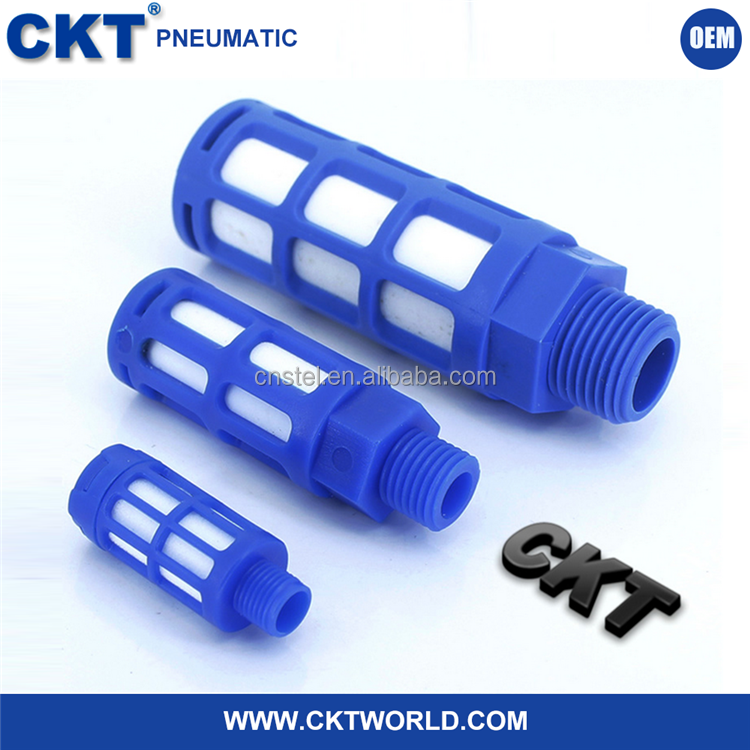China Supplier Pneumatic Plastic Air Silencers