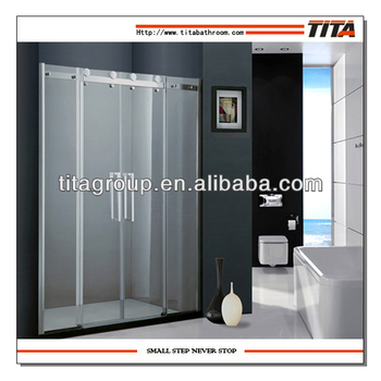 Fashion Shiny Glass Shower Screen