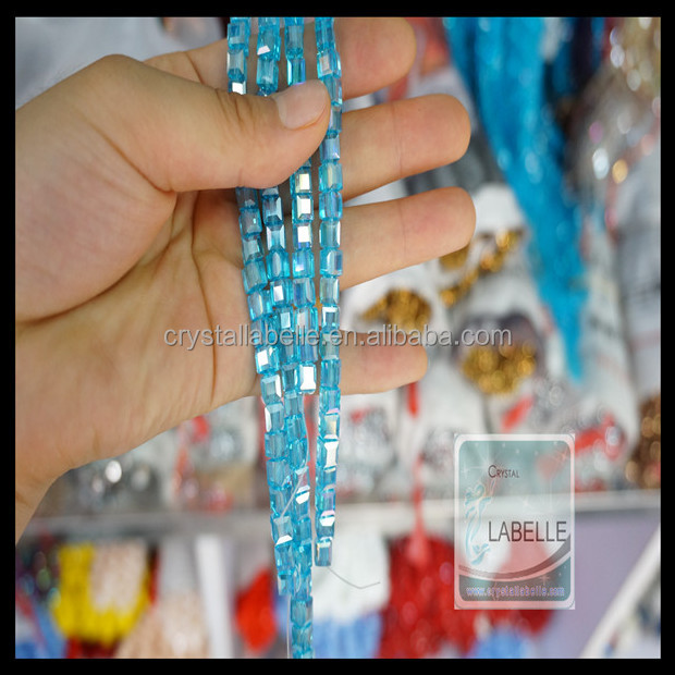 Round AB Clear Crystal Beads in Bulk Crystal Glass Tyre Lines