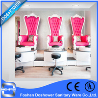 best miniwatt chair Salon Furniture used Pink princess queen chair / sex chair